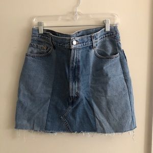 Vintage Levi skirt